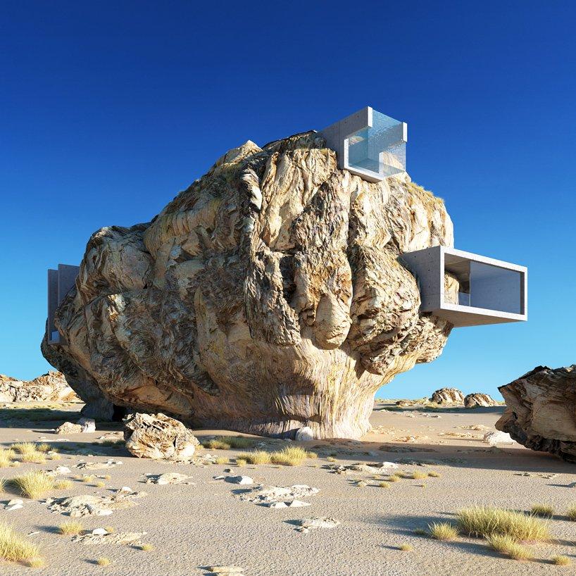 Casa cavada en la roca