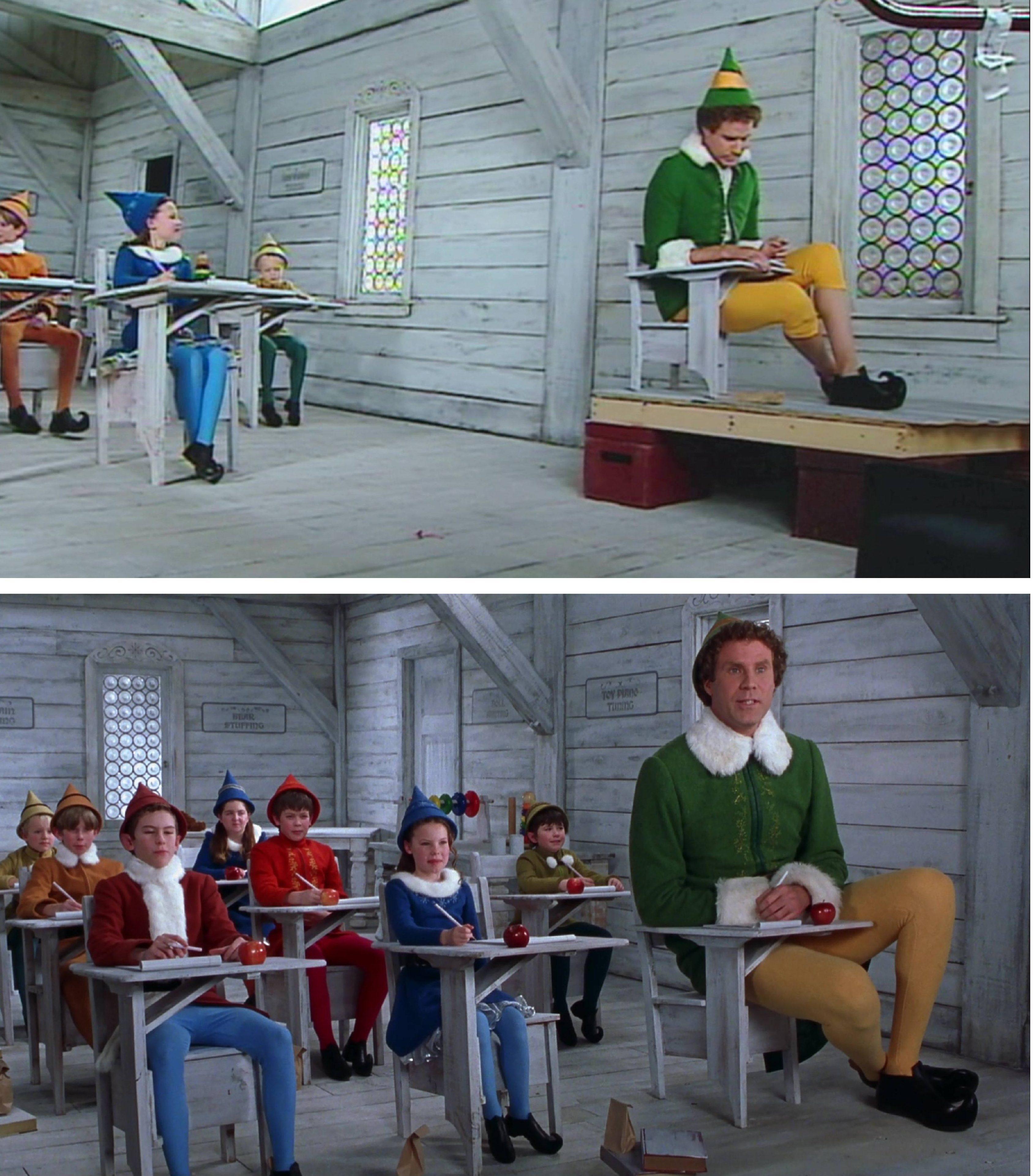 punto de vista película elf