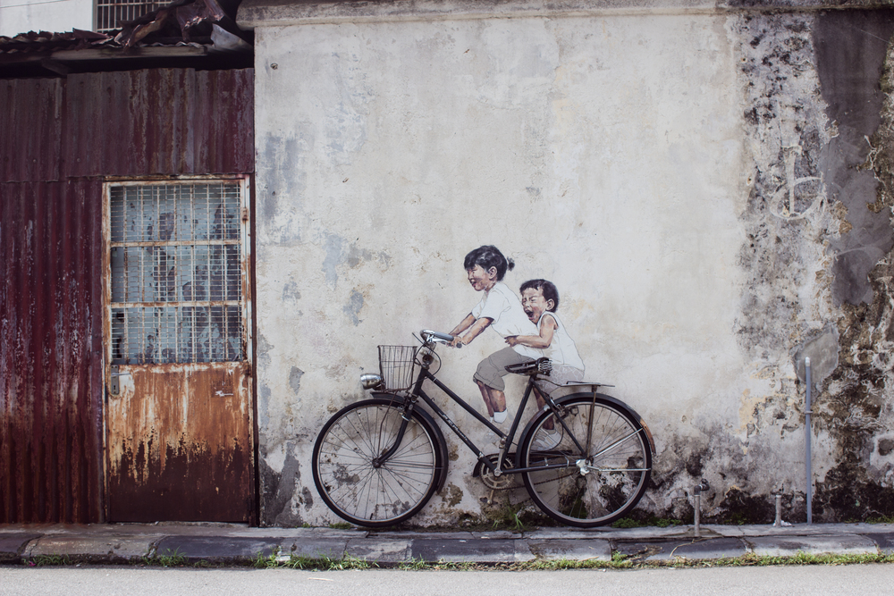 mural bicicleta
