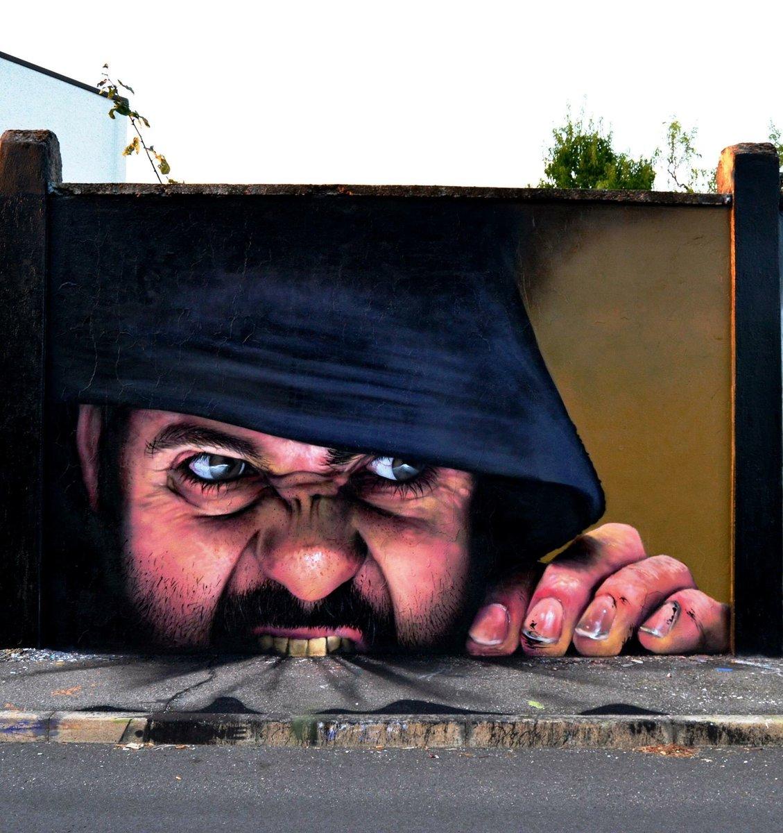 graffitis pared cheonne