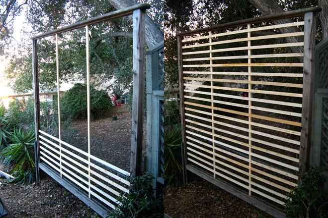 muro para el jardín vegetal