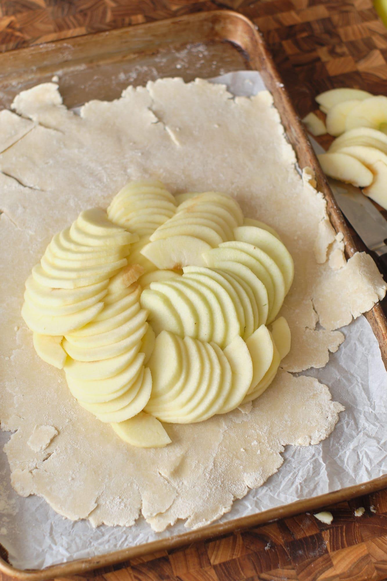 pastel de manzana receta fácil