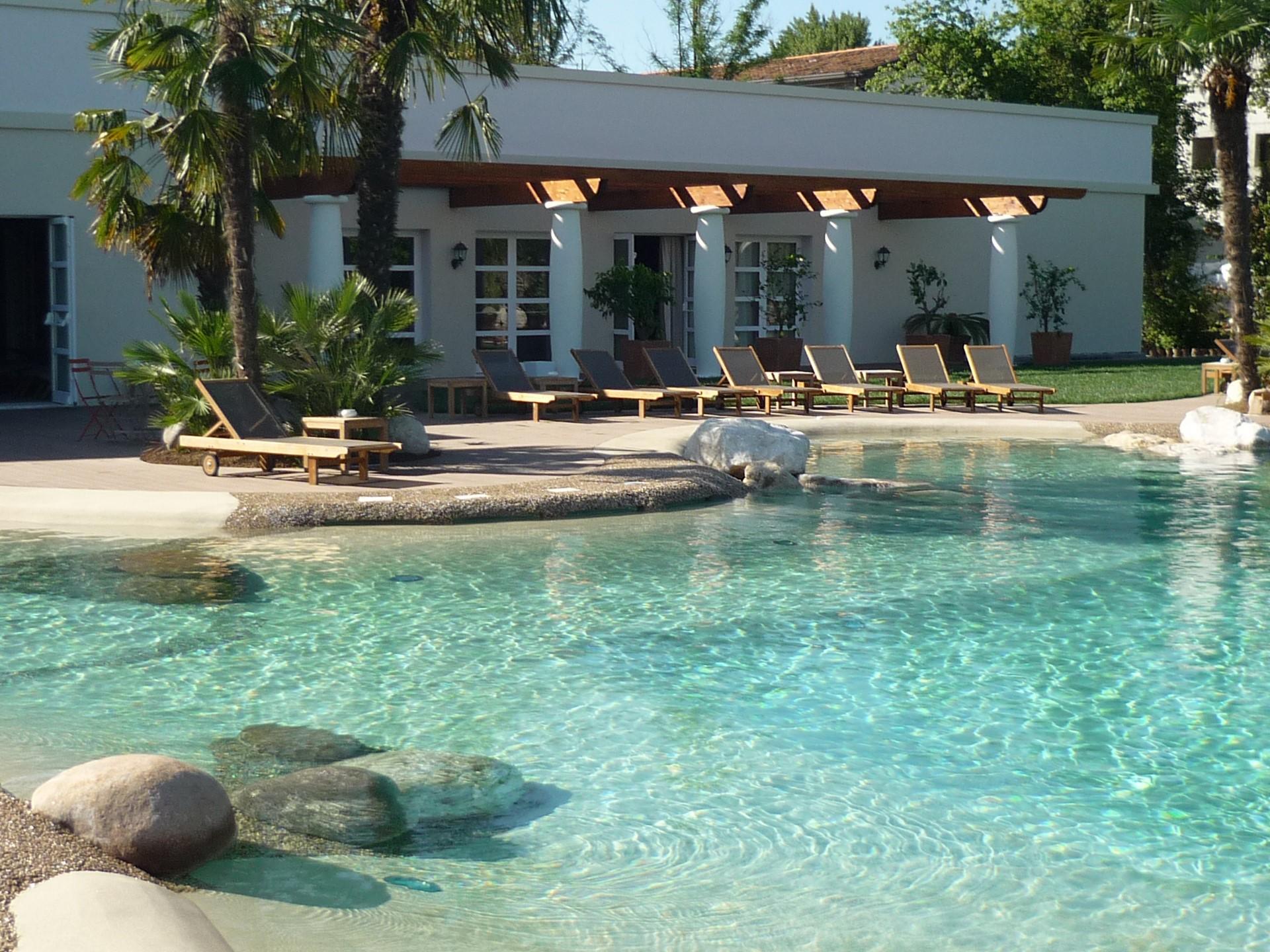 casas con piscinas de arena de playa