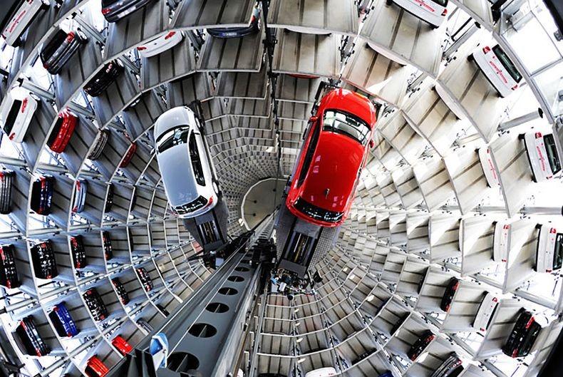 Autostadt aparcamiento