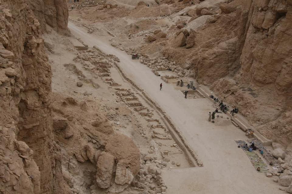 Egipto Excavaciones Valle de los Reyes