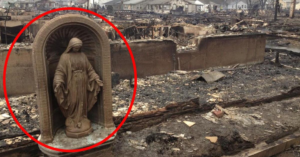 Virgen Huracán Sandy Nueva York