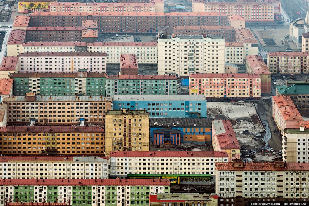 Norilsk ciudad industrial