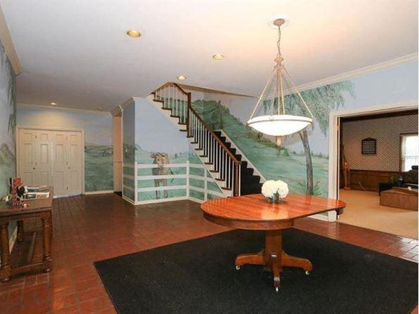 salón pintado con prado diseños de interiores