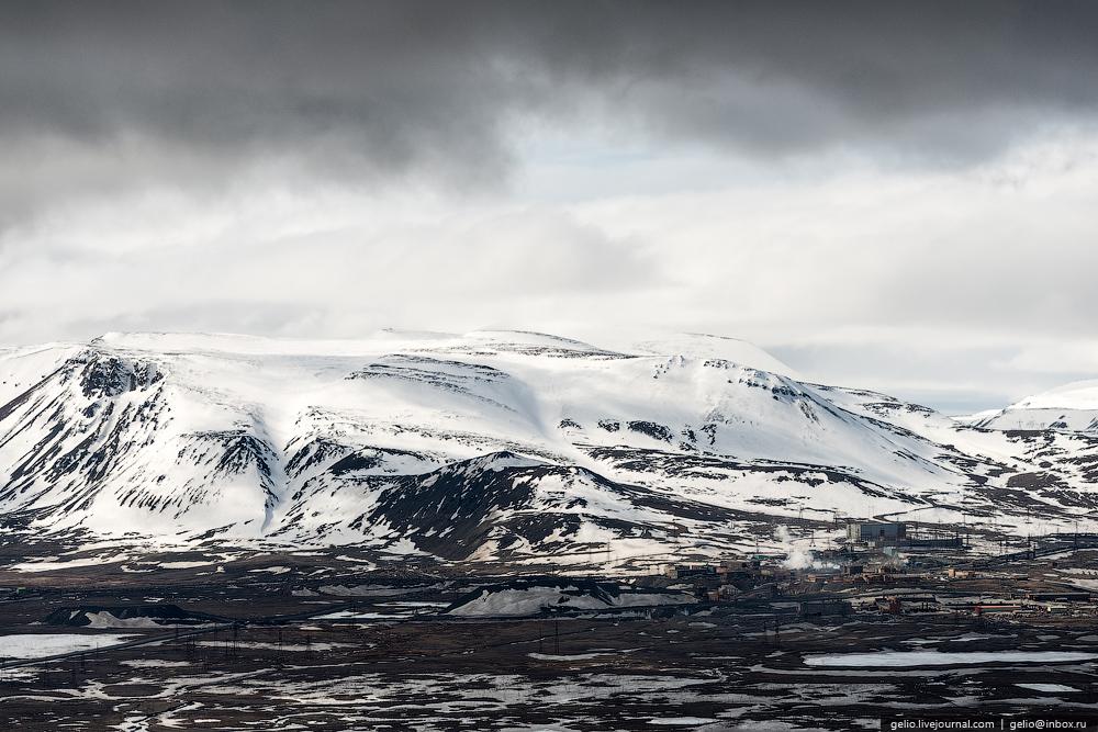 Norilsk montañas