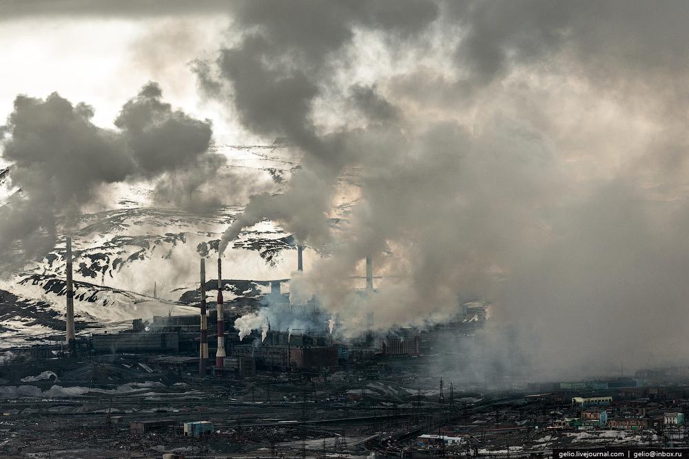 Norilsk fábrica de niquel