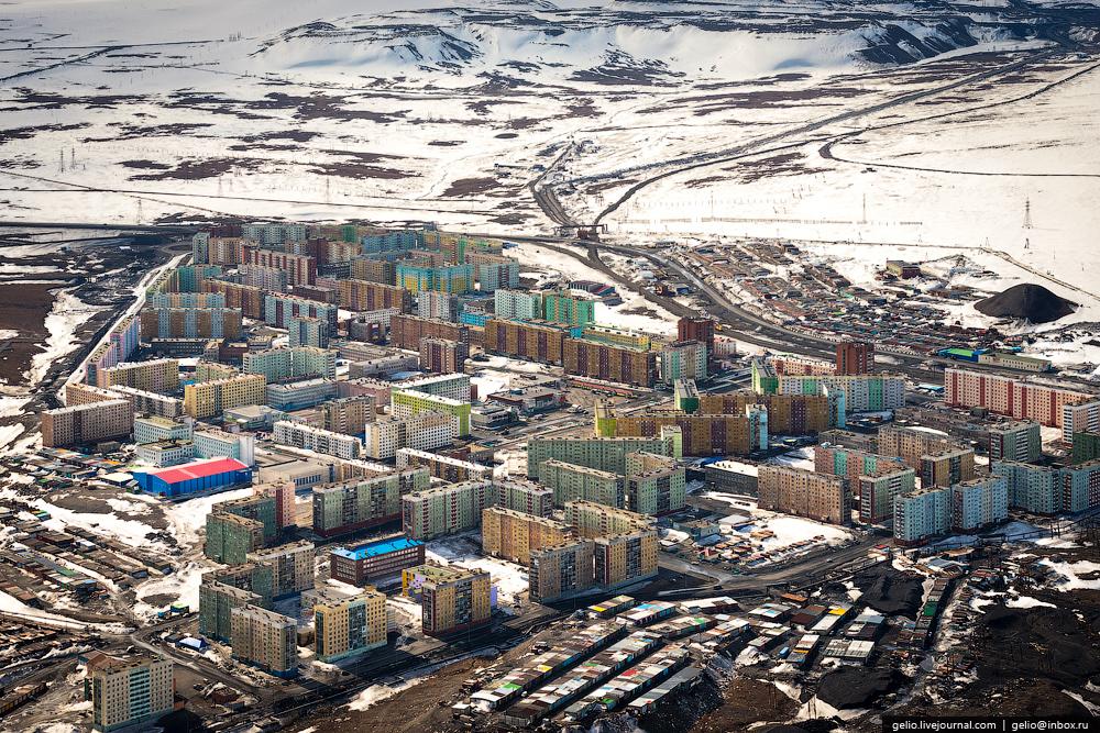 Norilsk ciudad metalúrgica