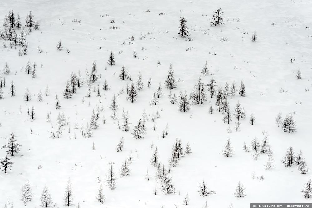 paisaje nevado ruso