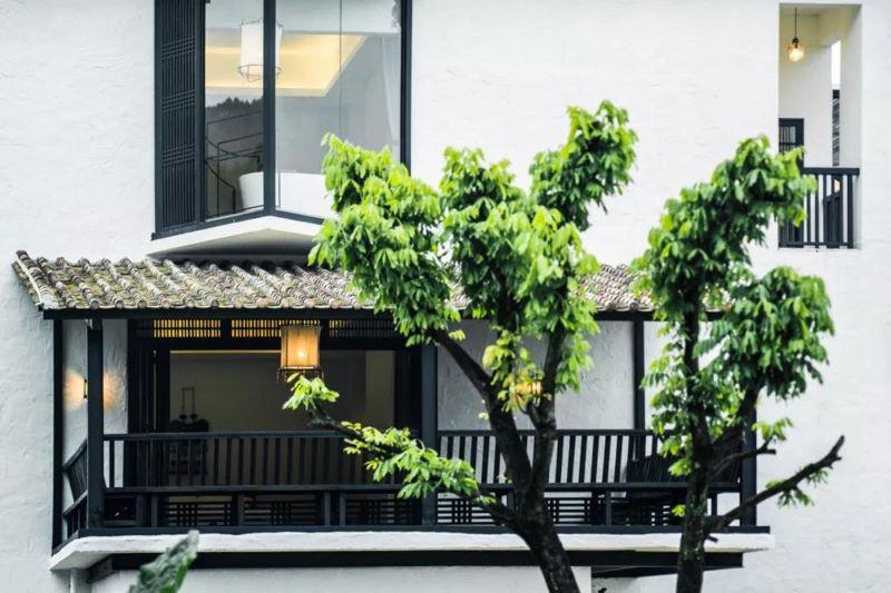 mansión restaurada en china