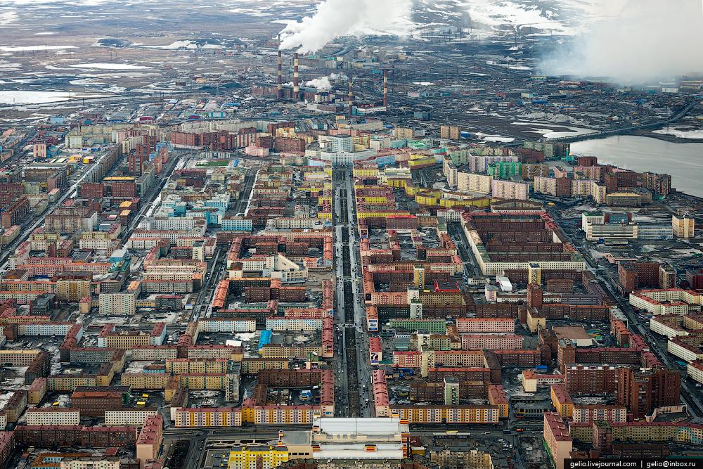 Norilsk Krasnoyarsk Rusia