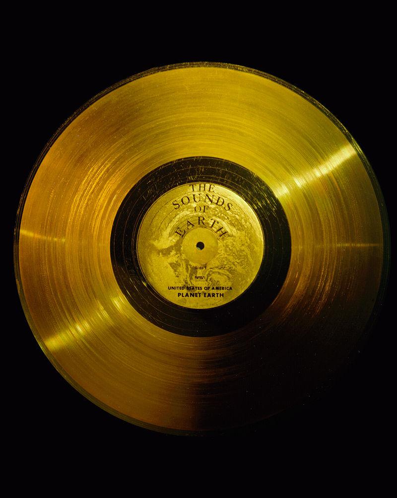disco dorado Voyager 1 NASA