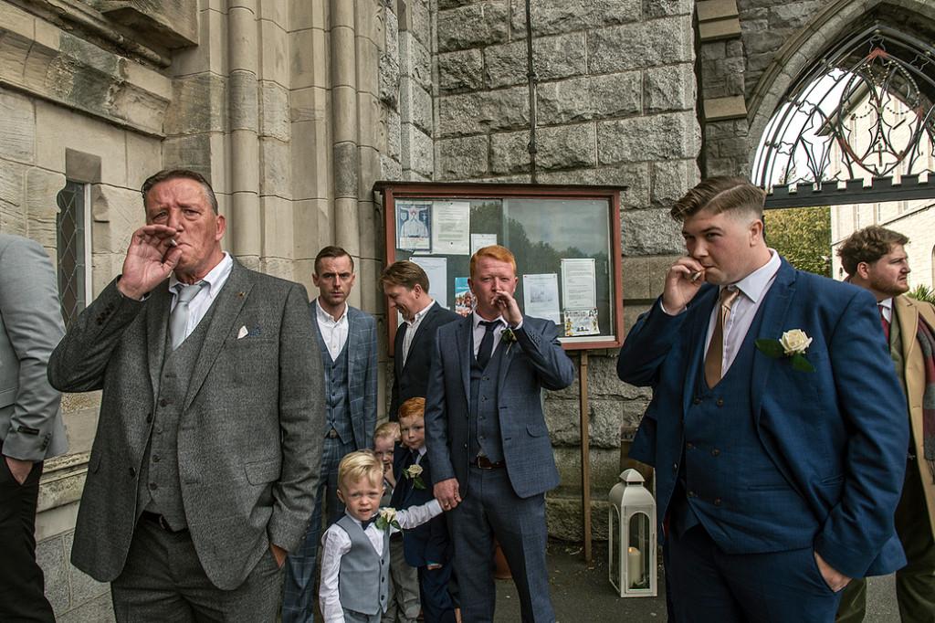 grupo de hombres irlandeses gitanos