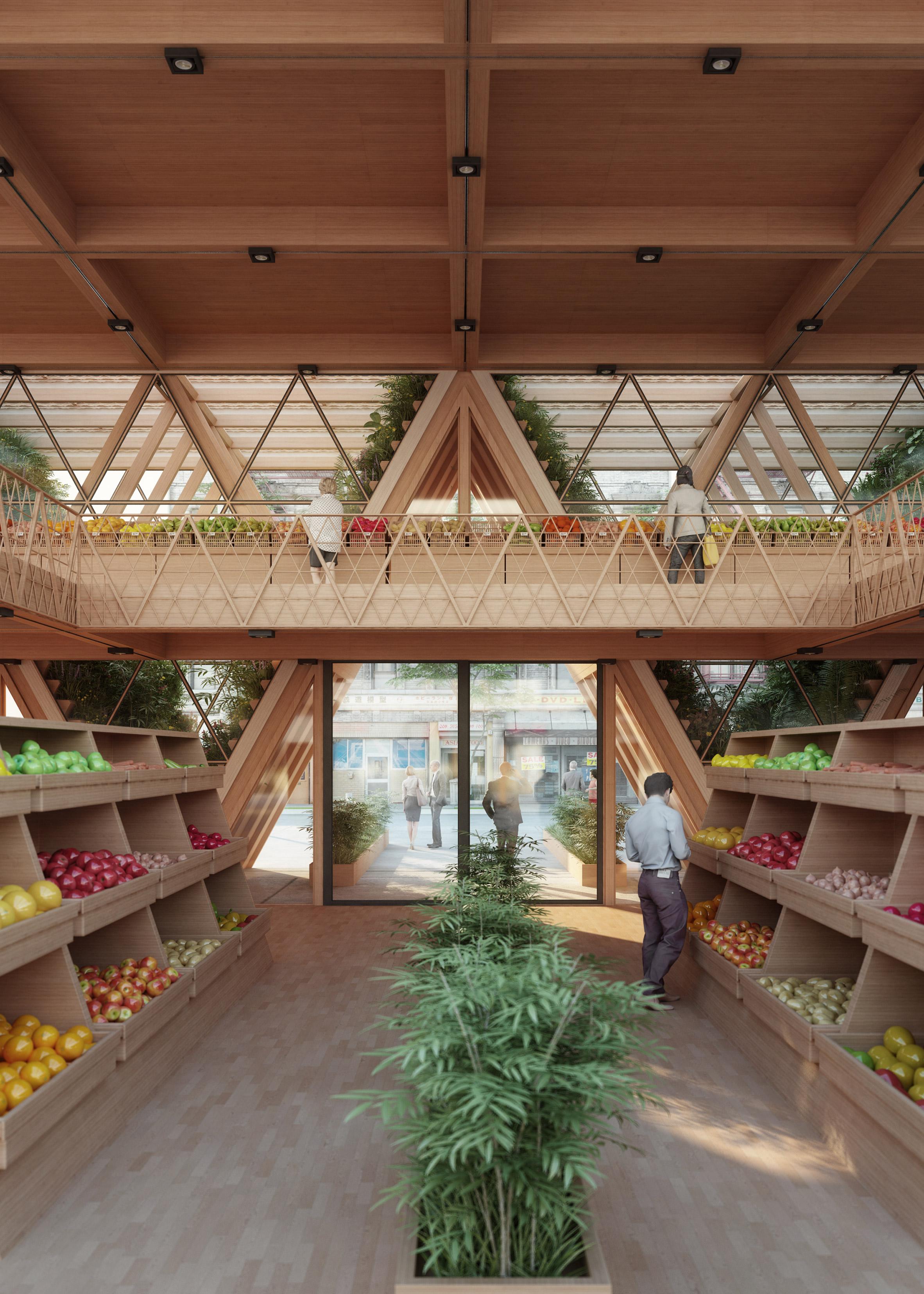 mercado comida verdura