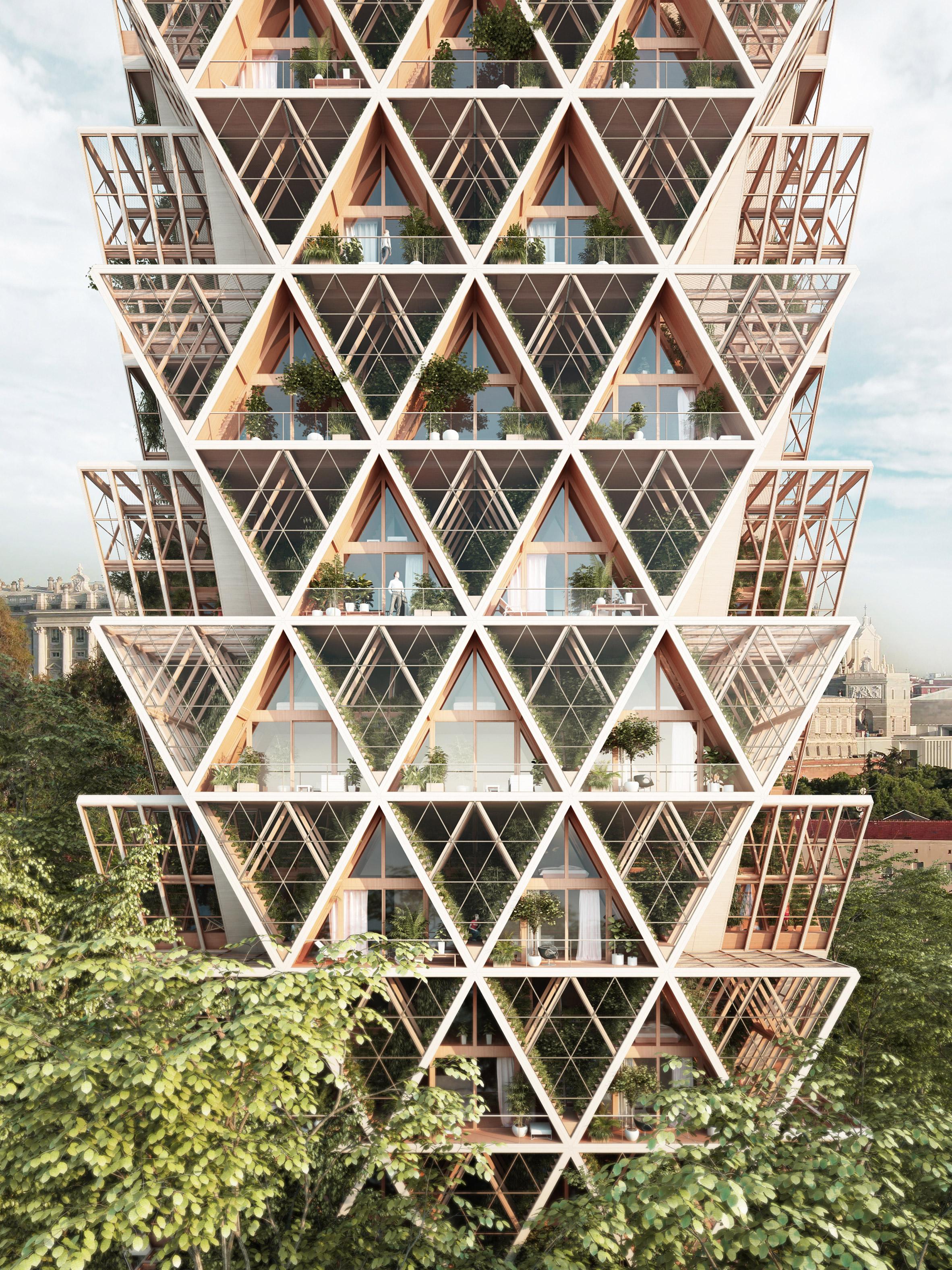 rascacielos modular
