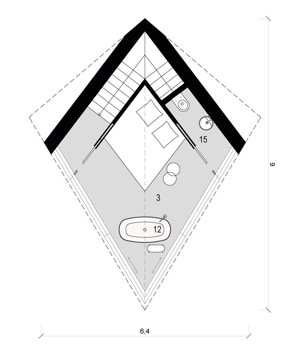 plano suite lujo