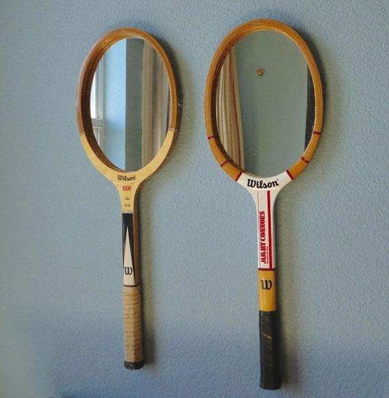 Raquetas espejo