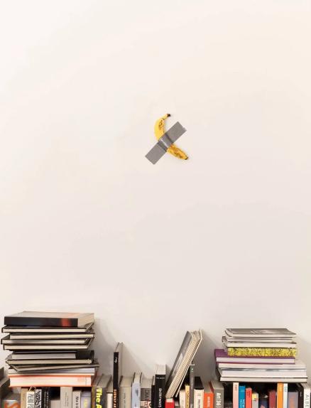Plátano y libros