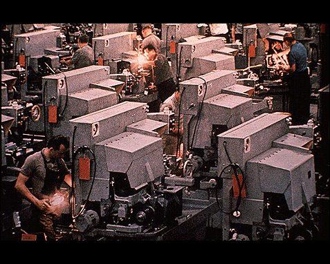trabajadores de la industria