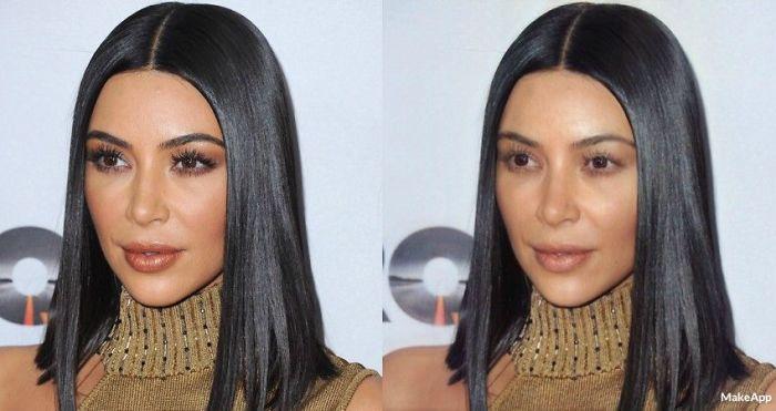 aplicación que quita el maquillaje kardashian