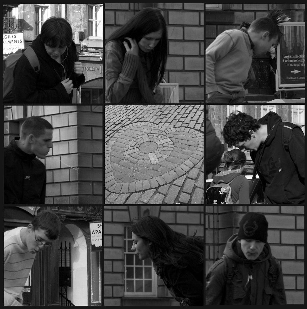 corazón Edimburgo escupir turismo