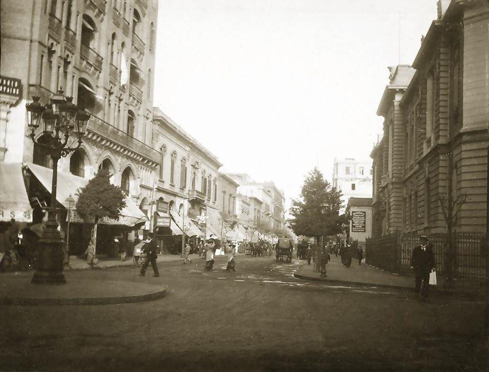 calle de El Cairo Egipto