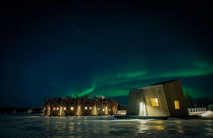 aurora boreal ártico