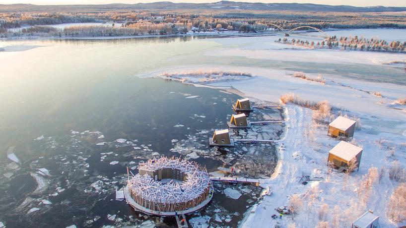 río hielo