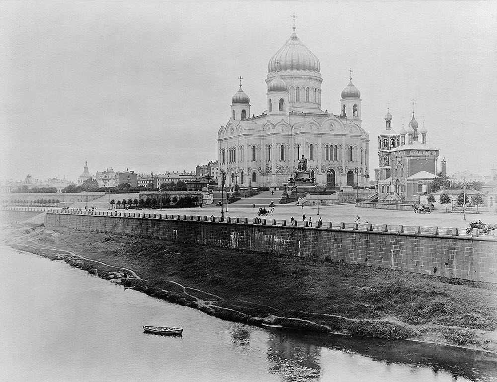 catedral moscú foto antigua