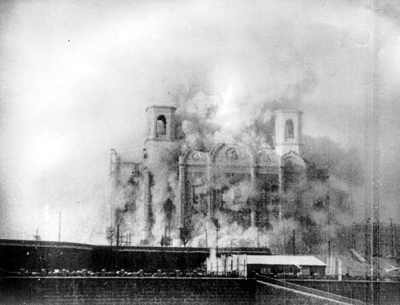incendio catedral moscú