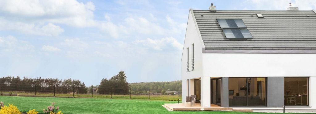 casa hidropanel tejado