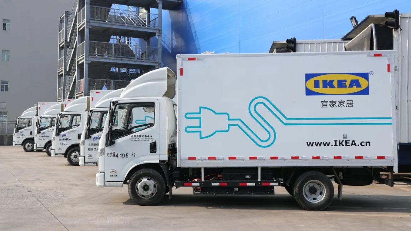 camion electrico ikea