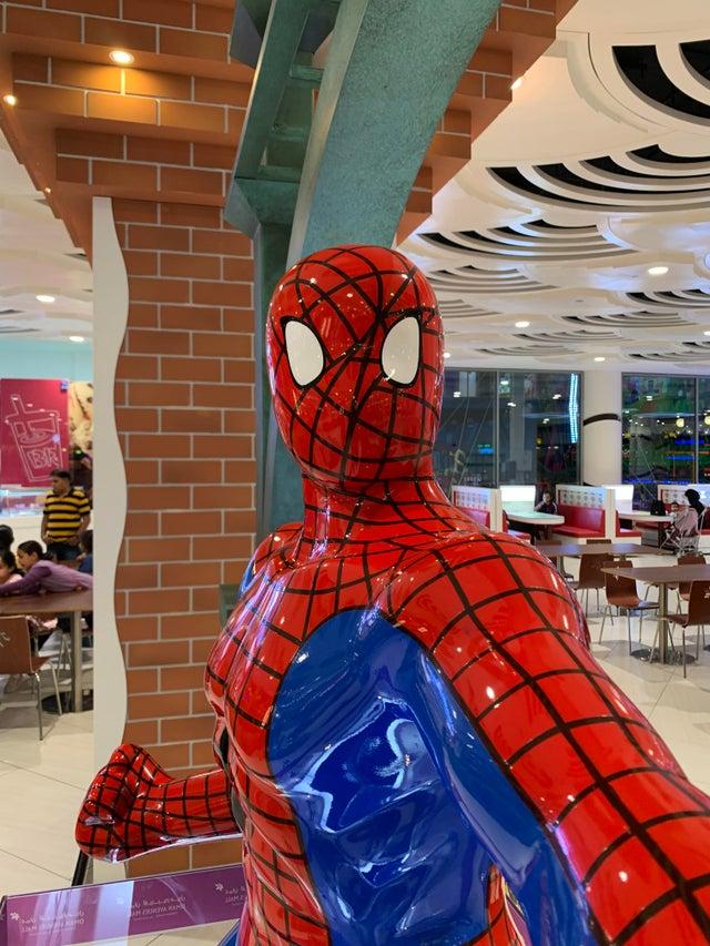 spiderman diseño horrible