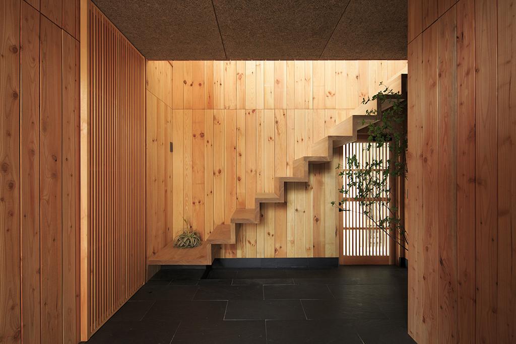 casa de madera en japón