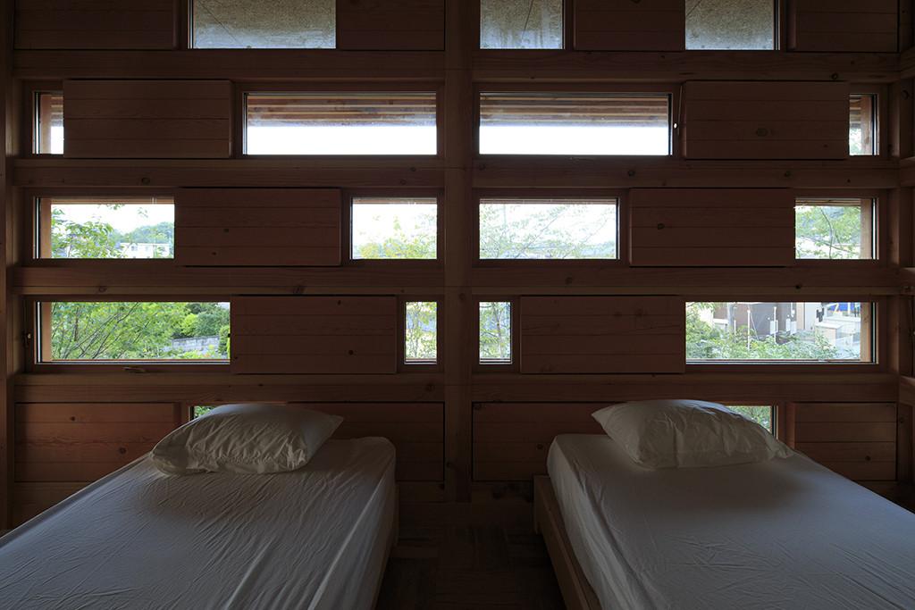 habitación moderna japonesa