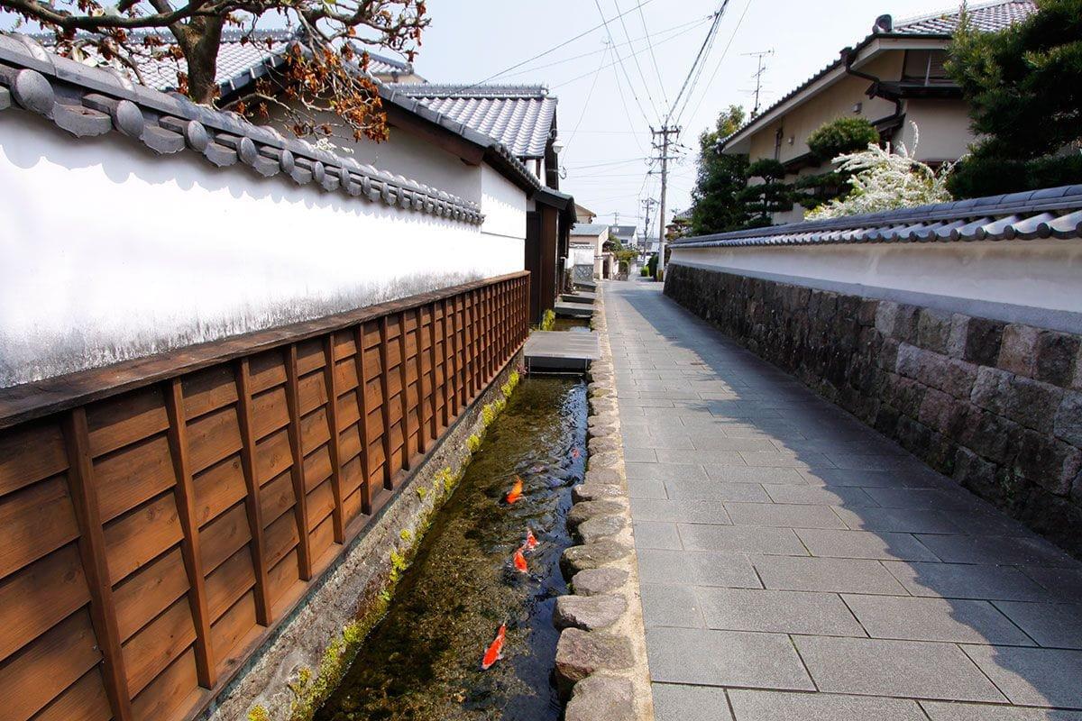 shimabara canales de drenaje