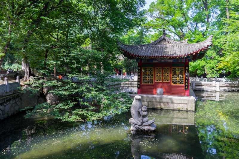 templo taoísta monte huashan