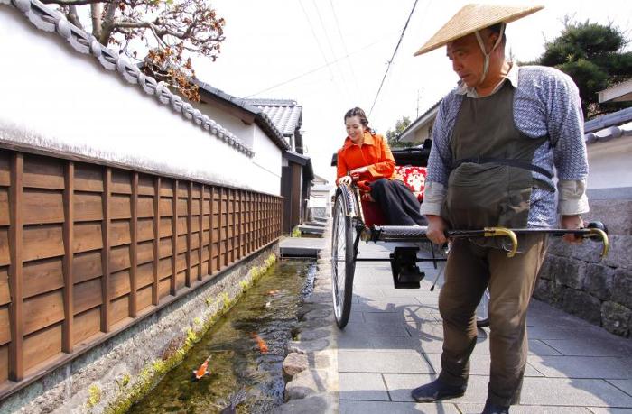 calle de los samurais shimabara