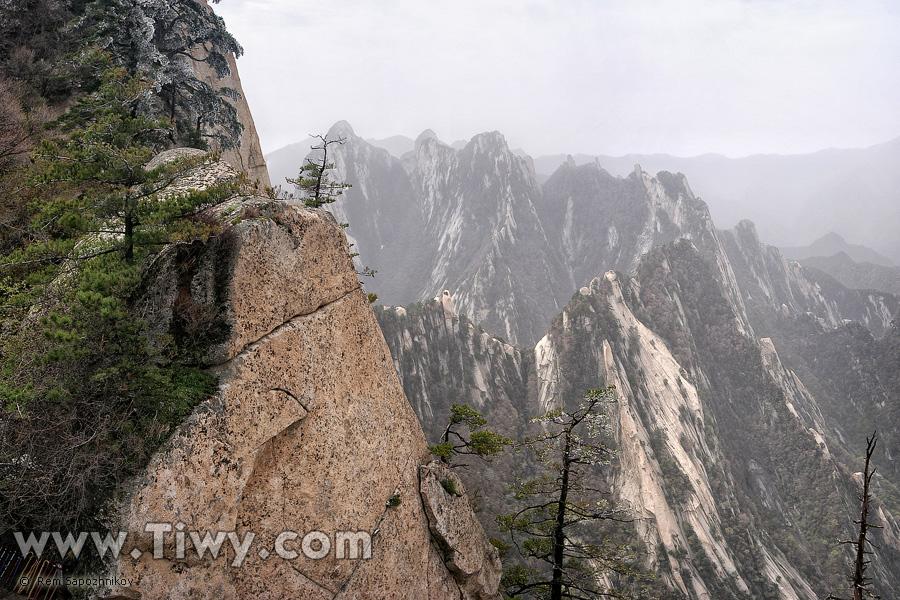 acantilados de montaña china