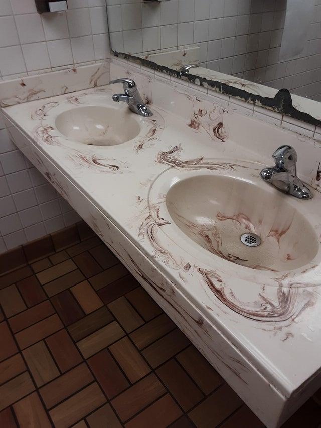 baño extraño