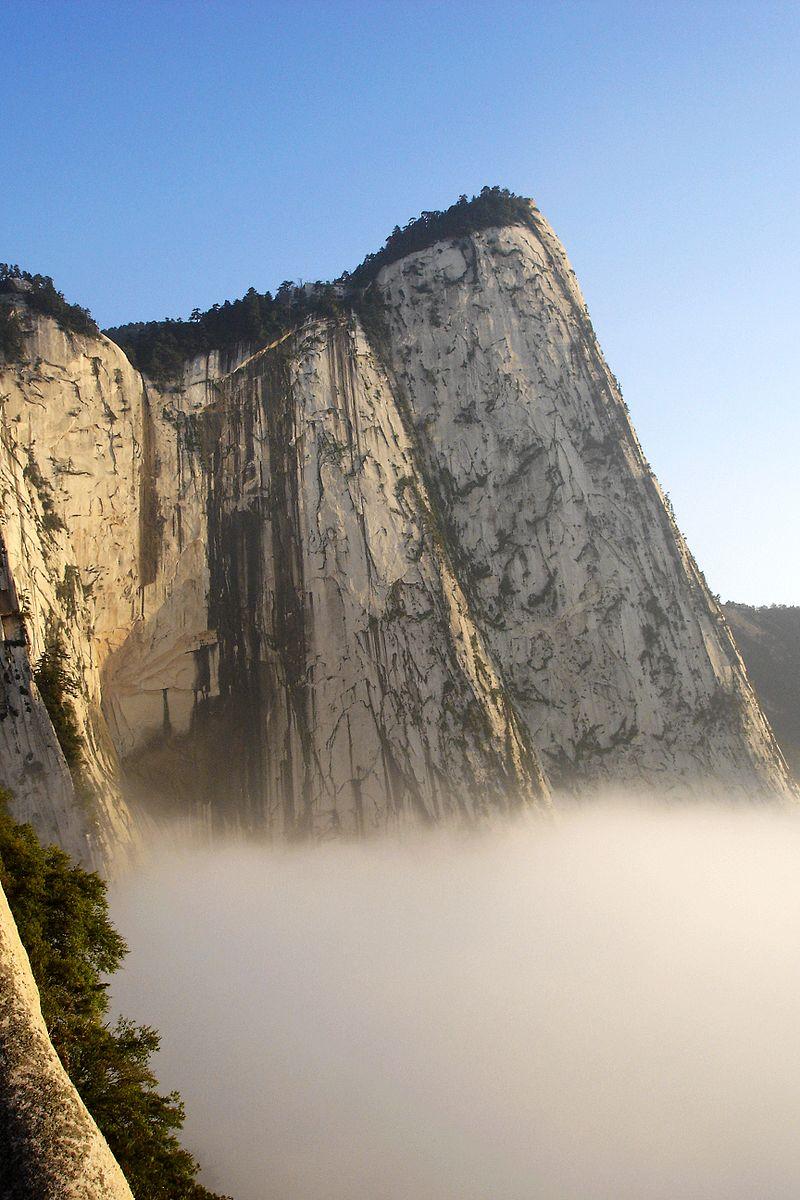 montaña huashan china
