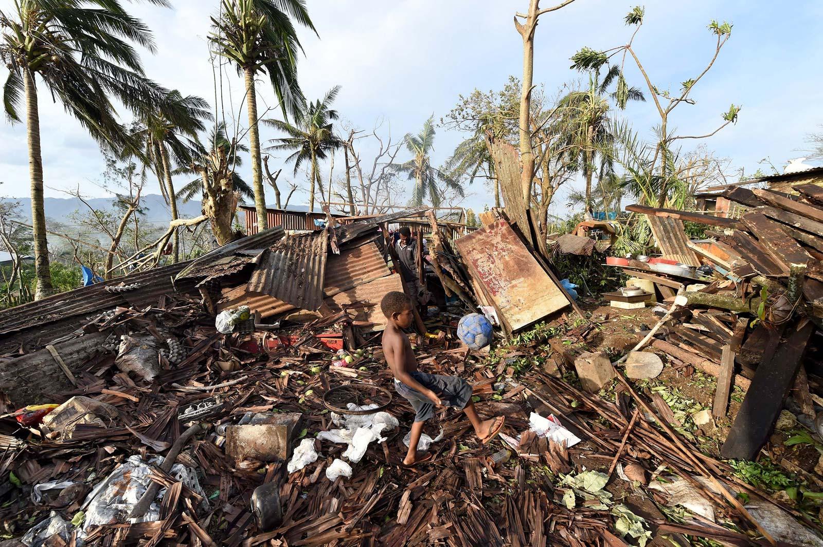 Ciclón Pam arrasa Vanuatu
