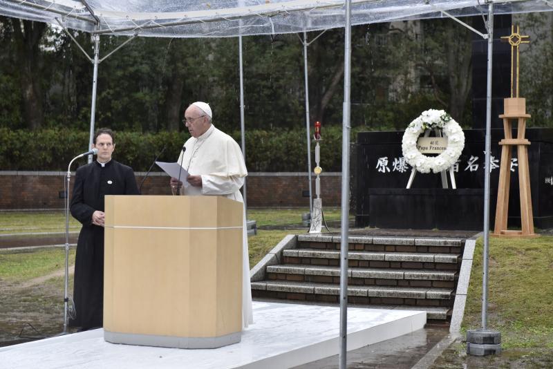 Papa Francisco Nagasaki