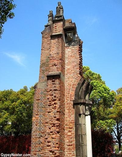 restos iglesia de Urakami
