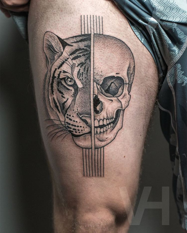 tatuajes simétricos 10