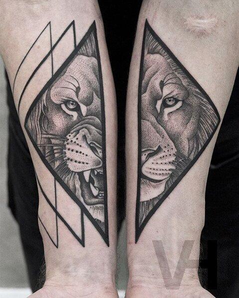 tatuajes simétricos 17