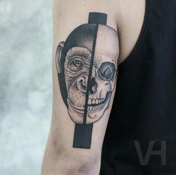 tatuajes simétricos 18